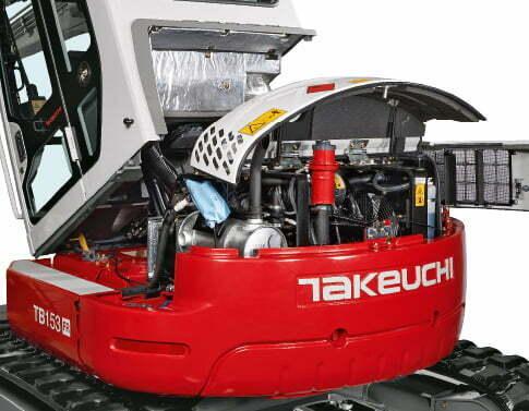 TB 153 FR – Servicing/maintenance