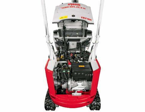 TB 210 RH – Servicing/maintenance