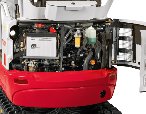 TB 215 R – Servicing/maintenance