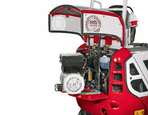 TB 216 SH – Servicing/maintenance