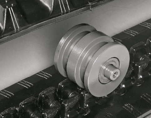 TB 230 – Dreiflanschige Laufwerksrollen