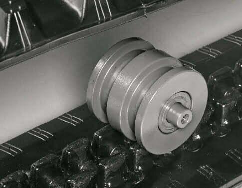 TB 240 – Dreiflanschige Laufwerksrollen