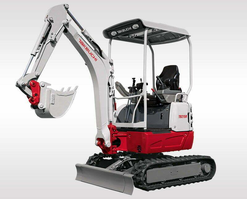 Mini Excavators – TB 215 R