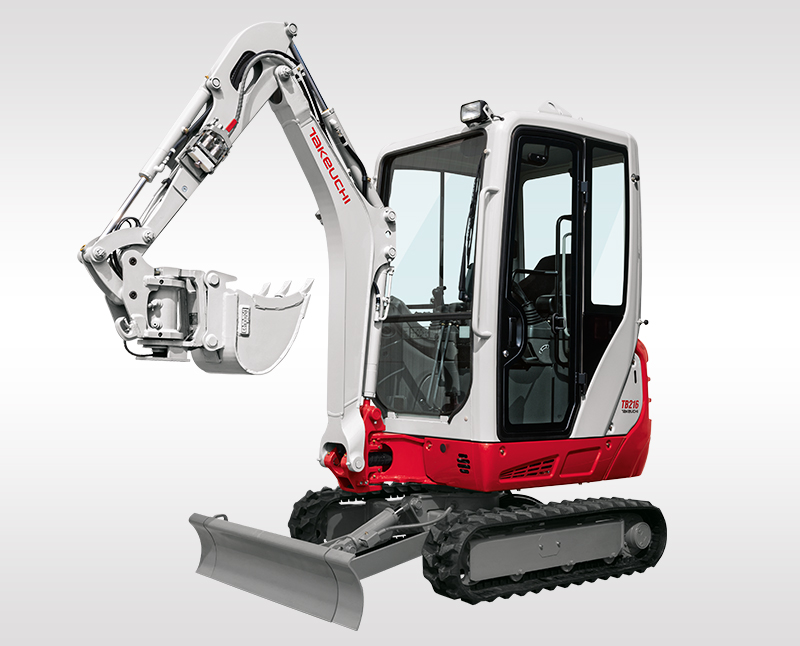 Mini Excavators – TB 216
