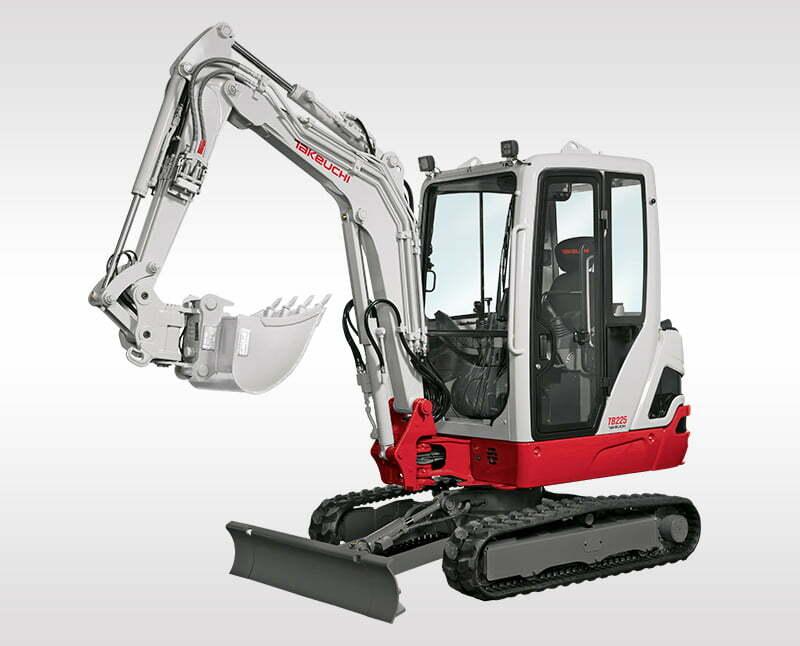 Mini Excavators – TB 225