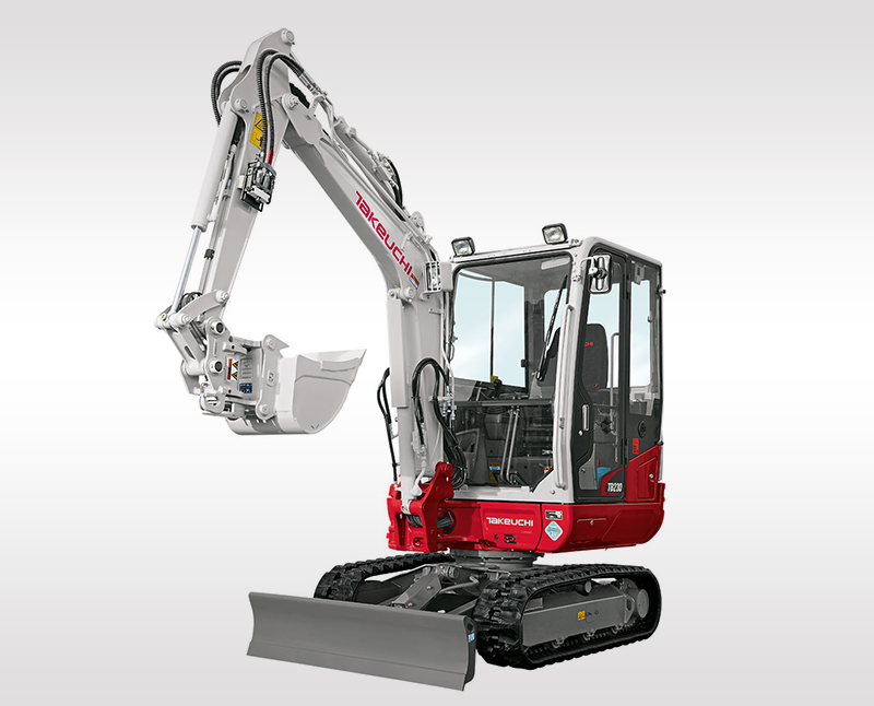 Mini Excavators – TB 230