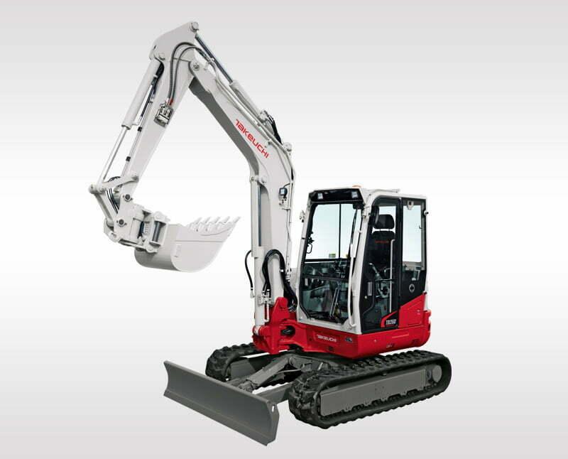 Mini Excavators – TB 260
