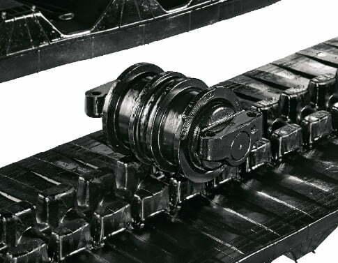TB 2150 – Dreiflanschige Laufwerksrollen