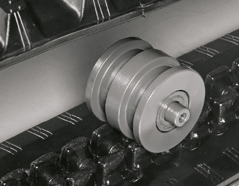 TB 260 – Triple-flange rollers
