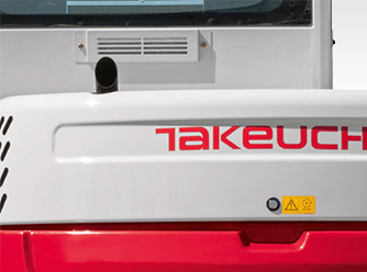 Takeuchi – Auspuff