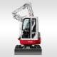Zero-swing Excavators – TB 138 FR