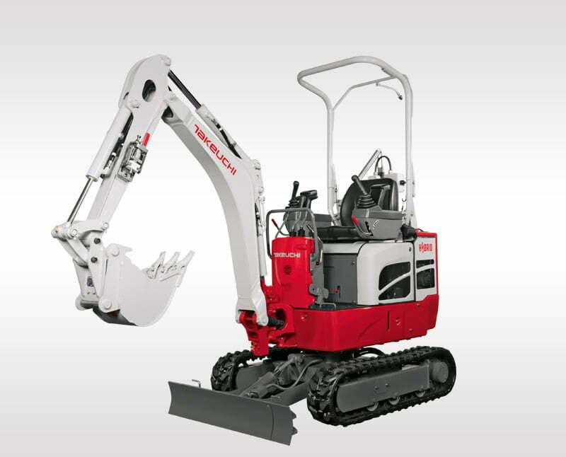 Hybrid Excavators – TB 210 RH