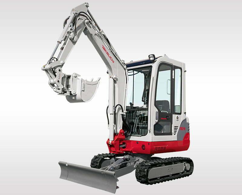 Mini Excavators – TB 219