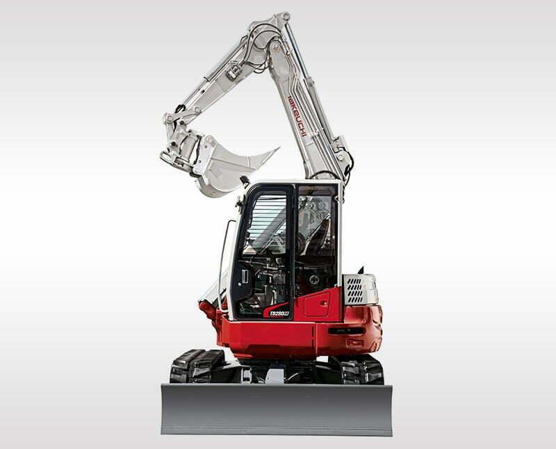 Zero-swing Excavators – TB 280 FR