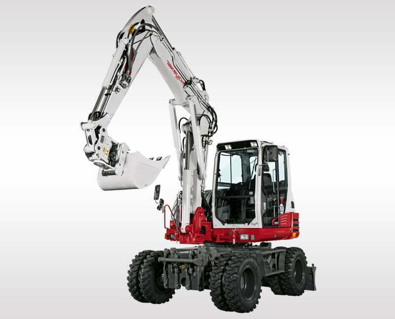 Mobile Excavators – TB 295 W