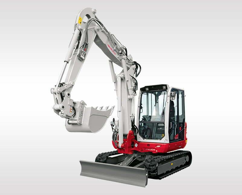 Compact Excavators – TB 370 CM/CV