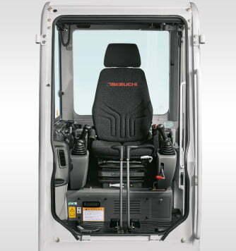 Takeuchi – Fahrersitz