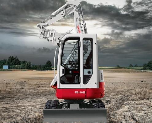 Zero Swing Excavators – TB 138 FR