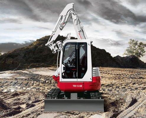 Zero Swing Excavators – TB 153 FR