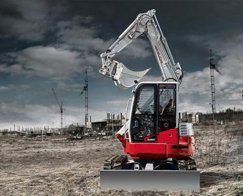 Zero Swing Excavators – TB 280 FR
