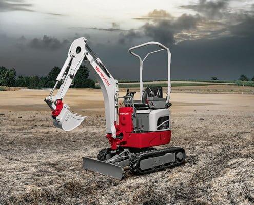 Mini excavators – TB 210 R