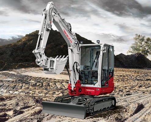 Mini excavators – TB 235-2