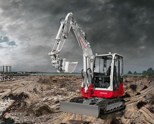 Mini excavators – TB 240