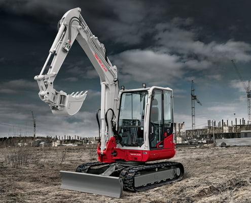Mini excavators – TB 250-2