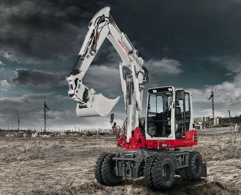 Mobil Excavators – TB 295 W