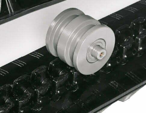 TB 257 FR – Dreiflanschige Laufwerksrollen