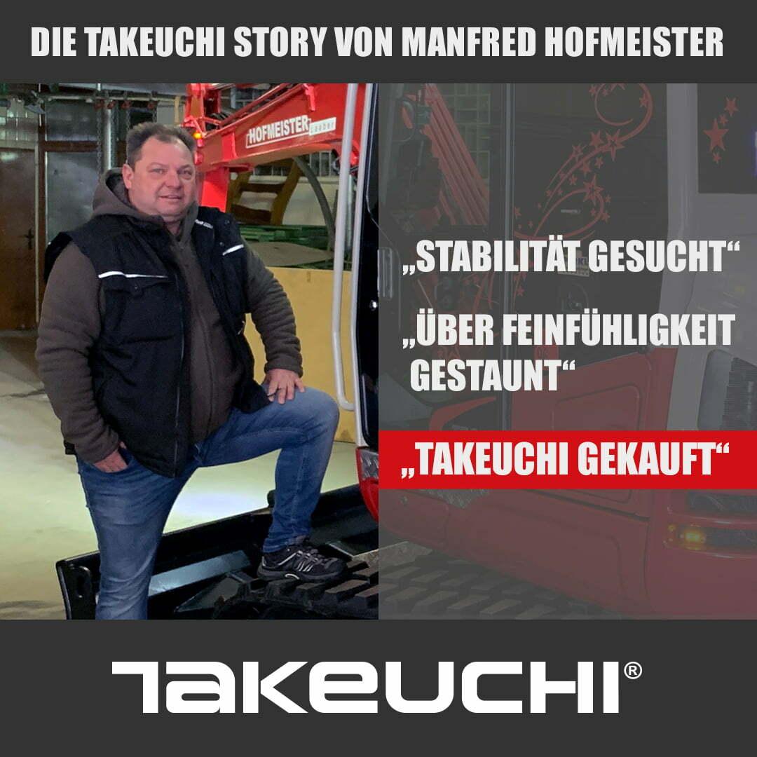Takeuchi Story – Manfred Hofmeister